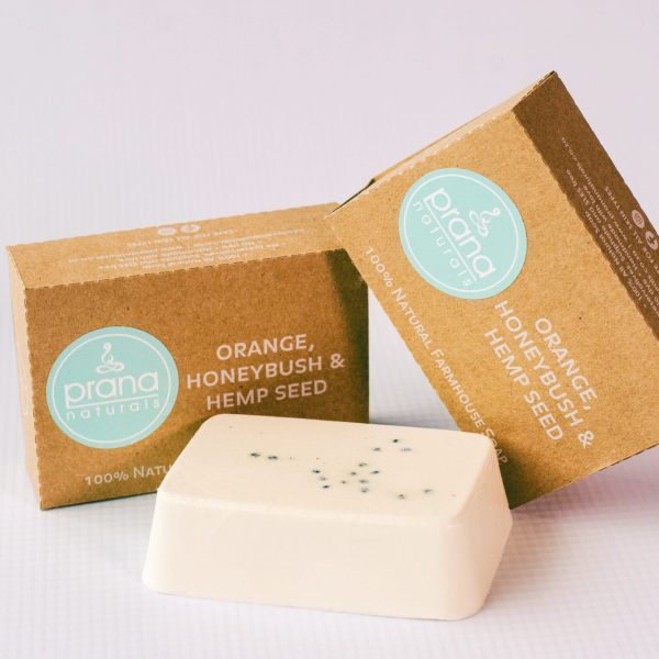 Orange, Hempseed & Honeybush Soap